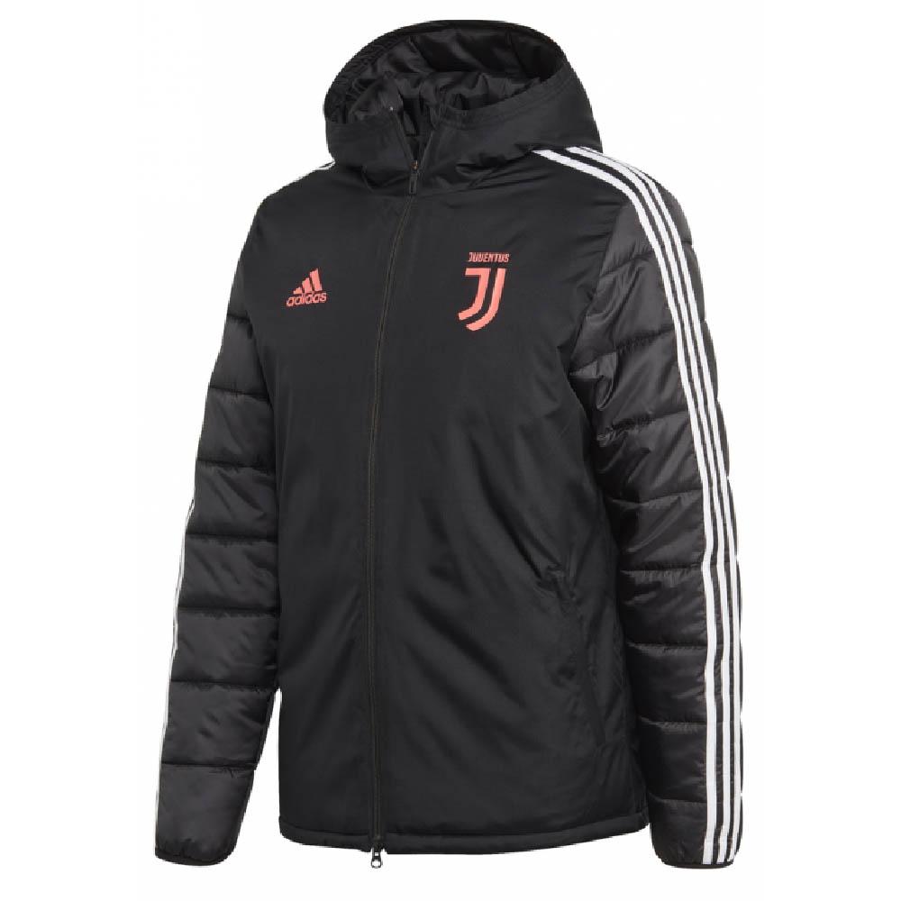 2019-2020 Juventus Adidas Winter Jacket (Black)