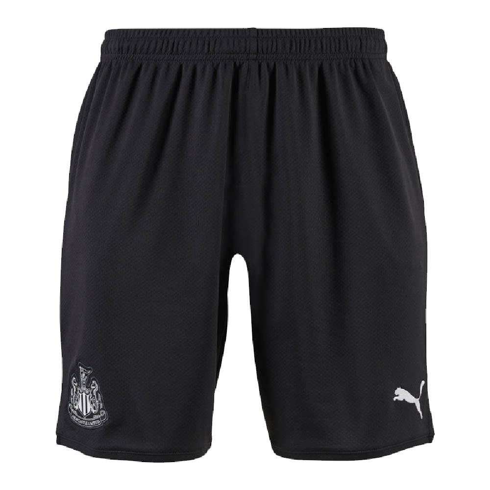 2019-2020 Newcastle Home Football Shorts (Black)