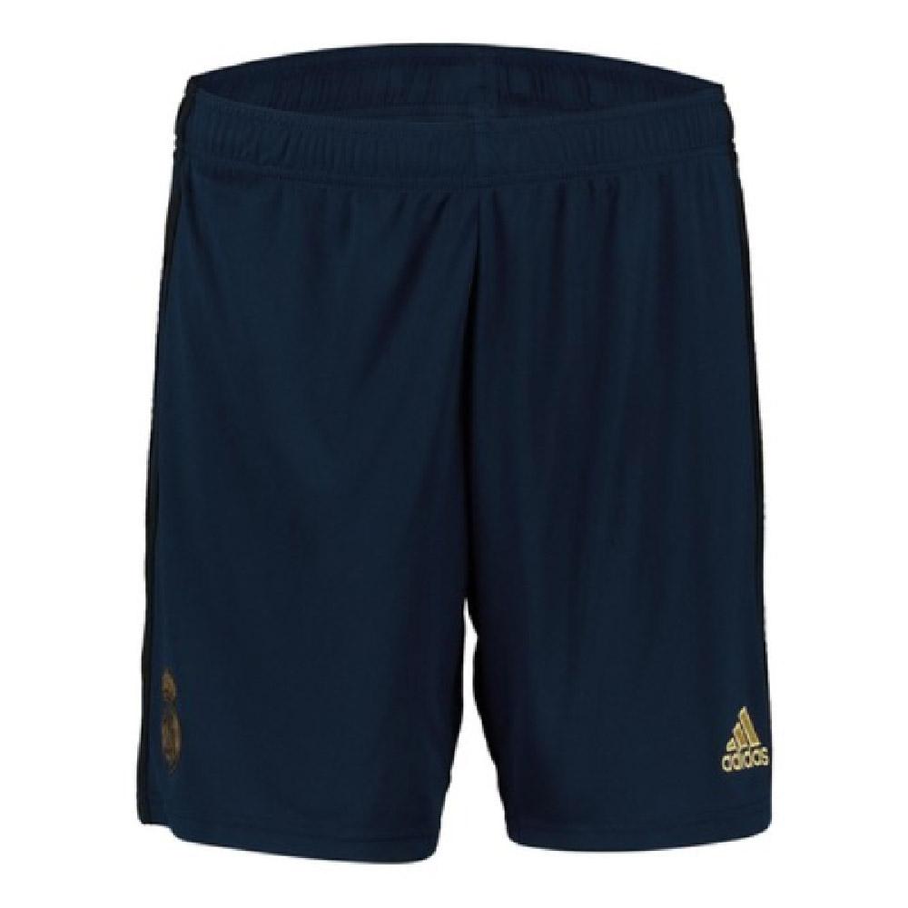 2019-2020 Real Madrid Adidas Away Shorts (Navy) - Kids