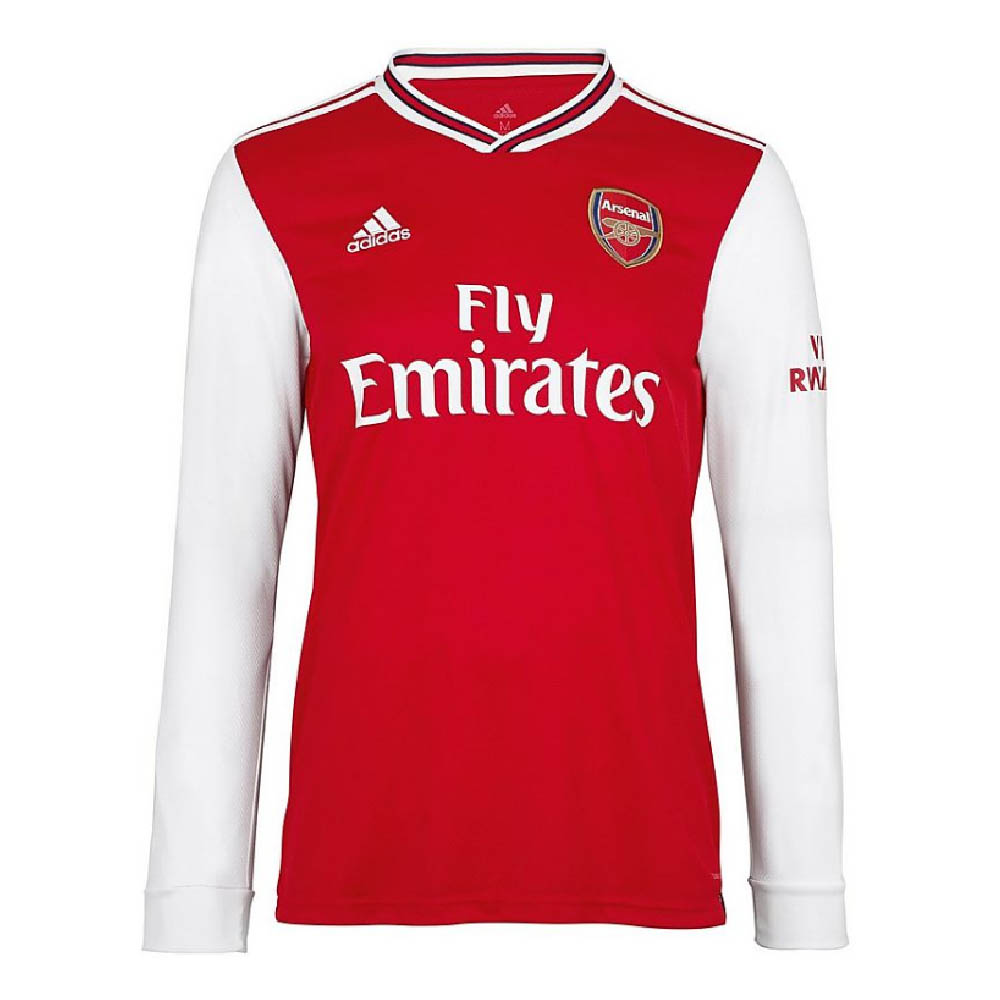 2019 2020 Arsenal Adidas Home Long Sleeve Shirt Eh5645 Uksoccershop
