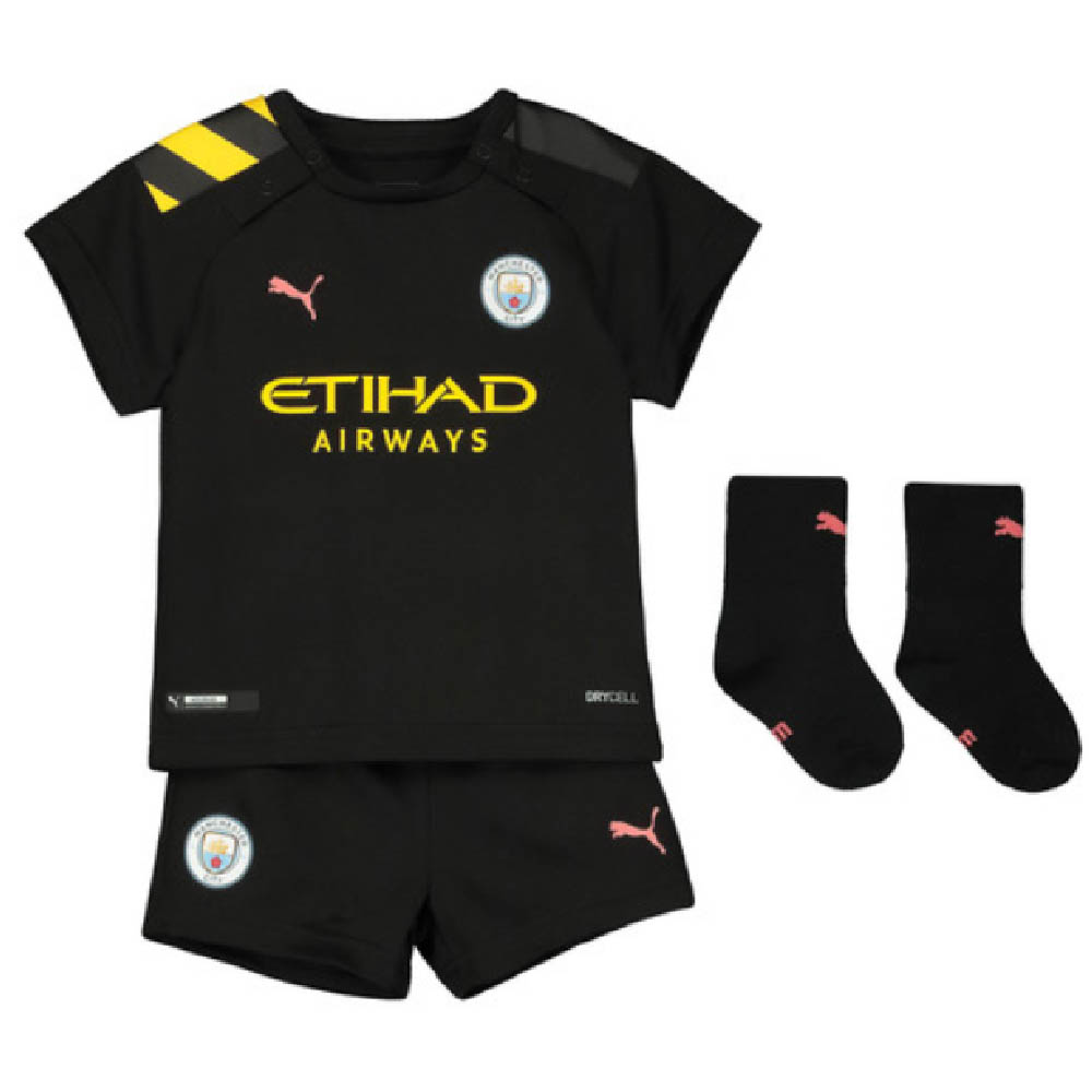 brand new 888bc 279ce 2019-2020 Manchester City Away Baby Kit