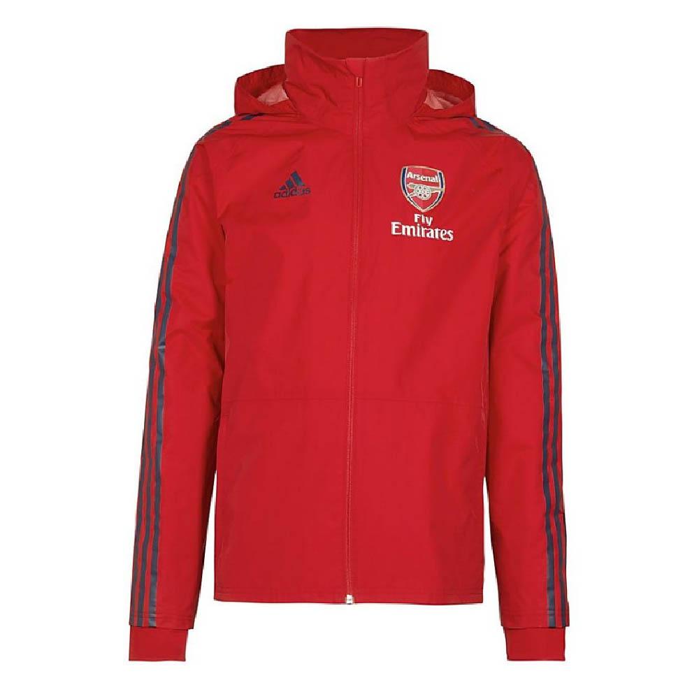 Saltar Clásico docena  2019-2020 Arsenal Adidas Storm Jacket (Red) [EH5734] - Uksoccershop
