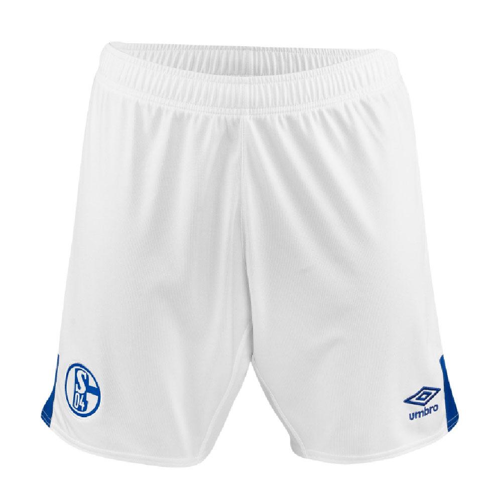 2019-2020 Schalke Home Football Shorts (White)