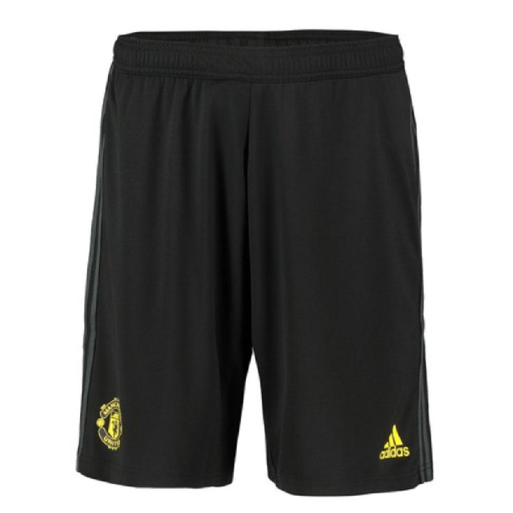 2019-2020 Man Utd Adidas Training Shorts (Black)