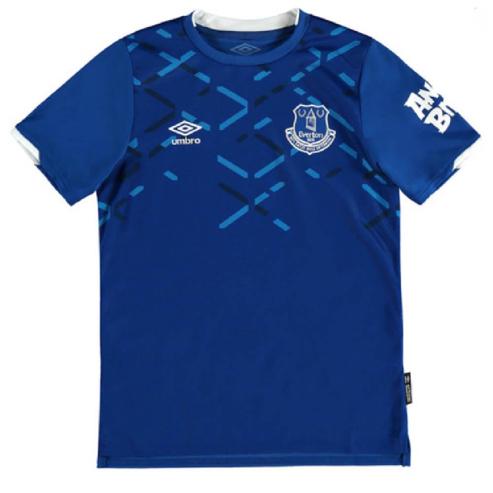 Everton Training Top Royal Blue Kids Umbro Football