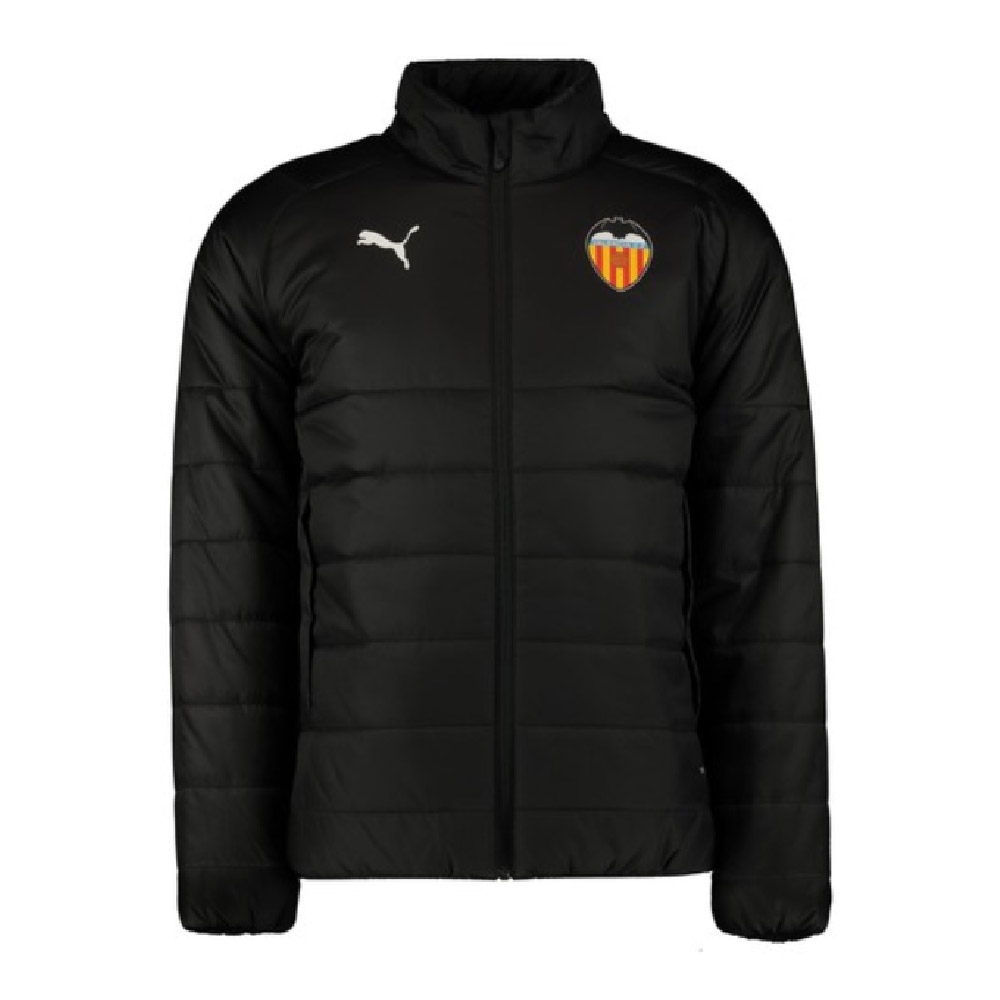 2019-2020 Valencia Puma Bench Jacket (Black)