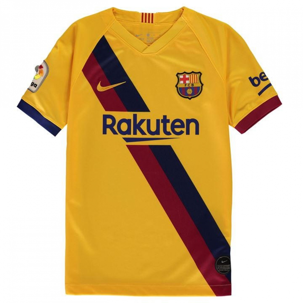 best website 8b818 6cba7 2019-2020 Barcelona Away Nike Shirt (Kids)