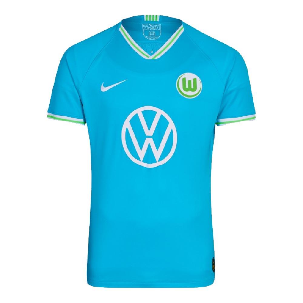 new styles e7b2e 5ec2f Nike Wolfsburg Mens SS Away Shirt 2019/20