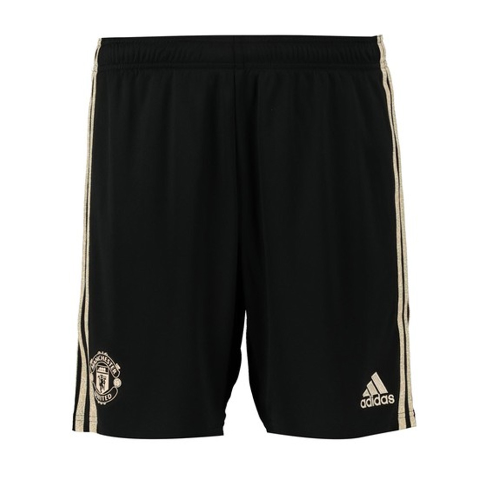 2019-2020 Man Utd Adidas Away Shorts (Black)