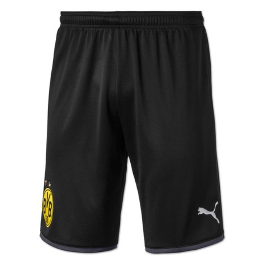 2019-2020 Borussia Dortmund Away Puma Shorts (Black)