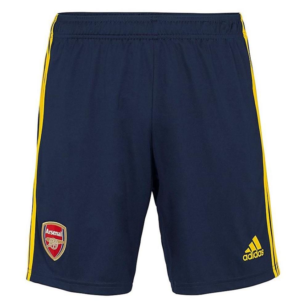 2019-2020 Arsenal Adidas Away Shorts Navy (Kids)