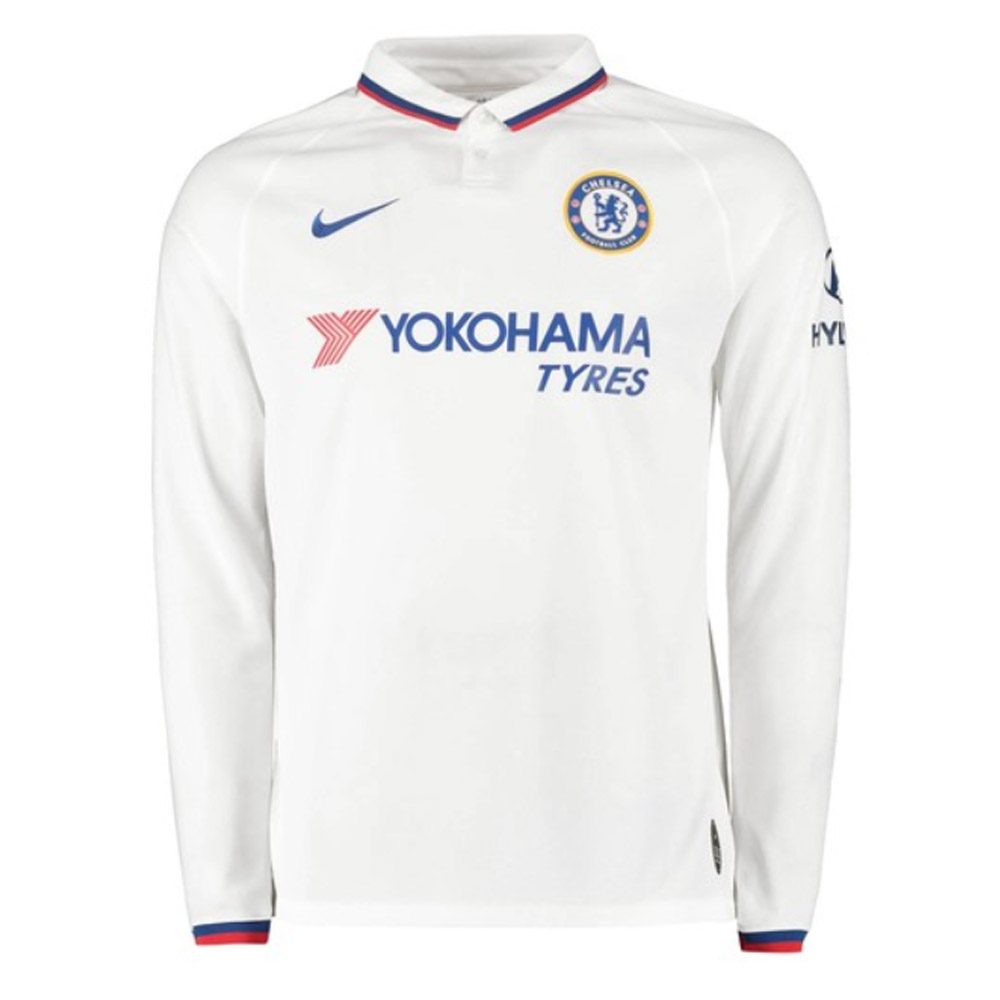 finest selection d9ebe eac2a 2019-2020 Chelsea Away Nike Long Sleeve Shirt