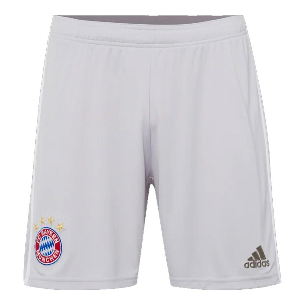 2019-2020 Bayern Munich Adidas Away Shorts (Grey)