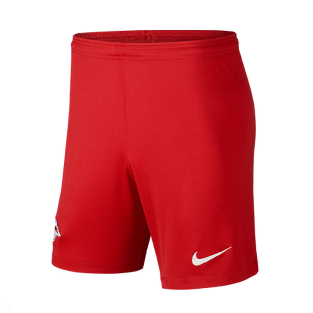 2019-2020 Red Bull Leipzig Nike Home Shorts (Red)