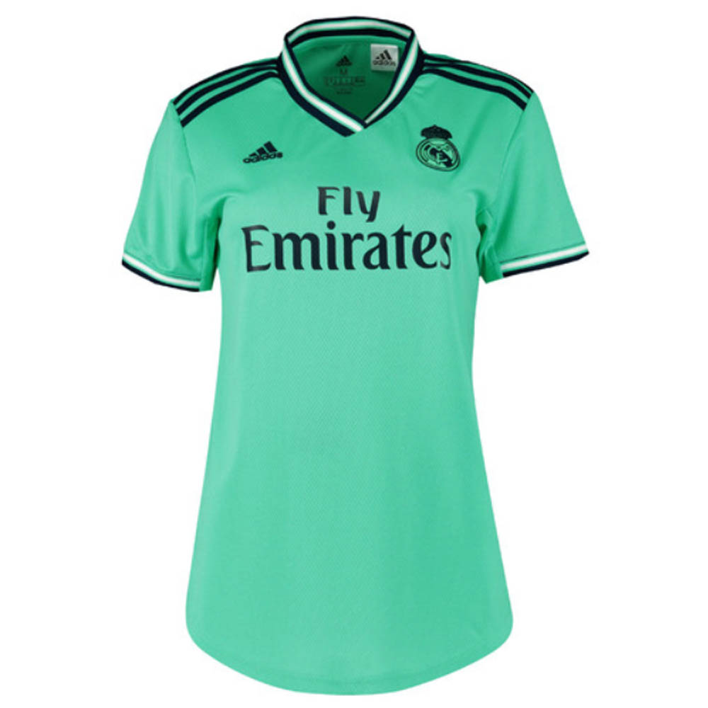new concept c4136 aff70 2019-2020 Real Madrid Adidas Womens Third Shirt