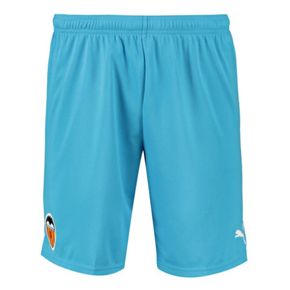 2019-2020 Valencia Third Puma Shorts (Blue)