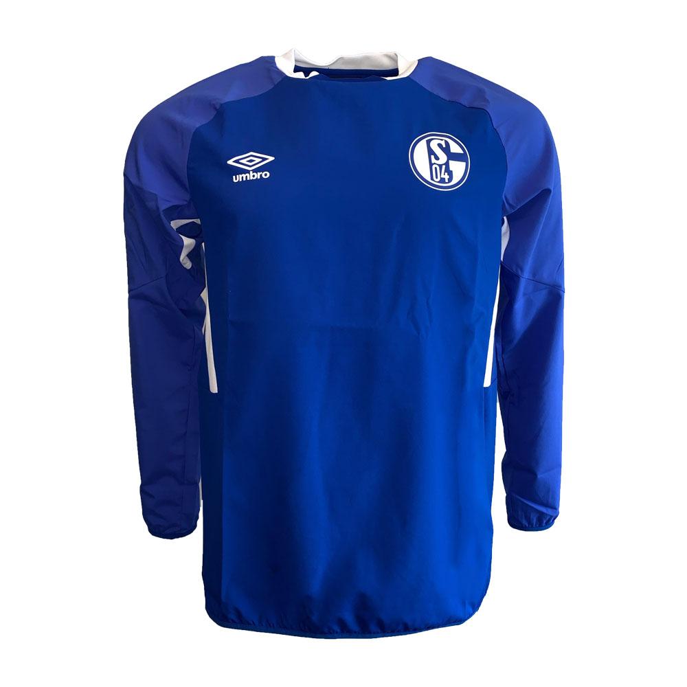 2019-2020 Schalke Umbro Drill Top (Blue)