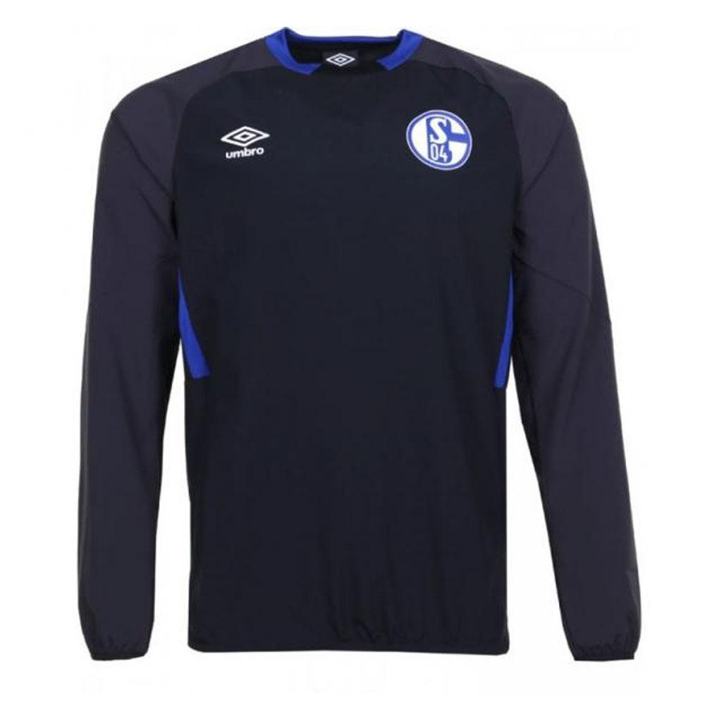 2019-2020 Schalke Umbro Drill Top (Black)