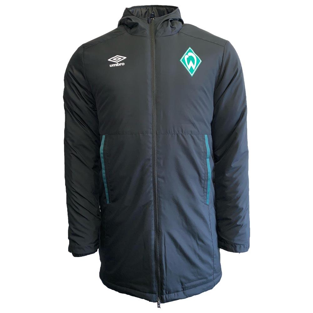 2019-2020 Werder Bremen Umbro Padded Jacket (Black)
