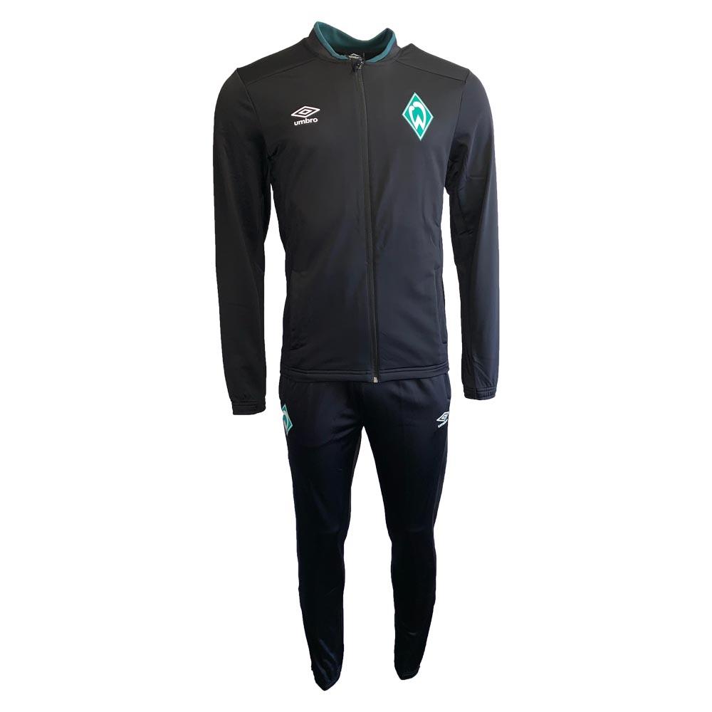 2019-2020 Werder Bremen Umbro Knit Tracksuit (Black)