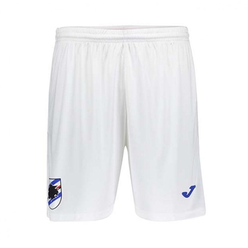2019-2020 Sampdoria Joma Home Football Shorts (White)