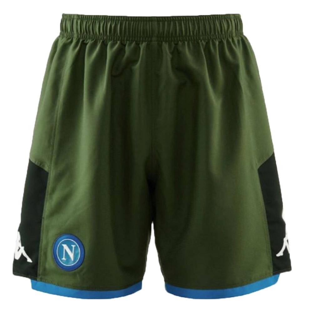 2019-2020 Napoli Kappa Away Shorts (Green)
