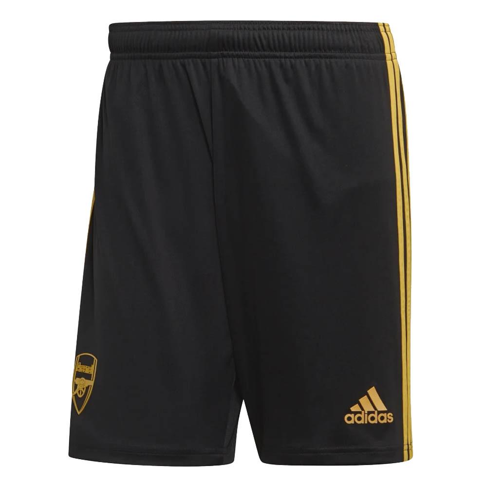2019-2020 Arsenal Adidas Third Shorts Black (Kids)