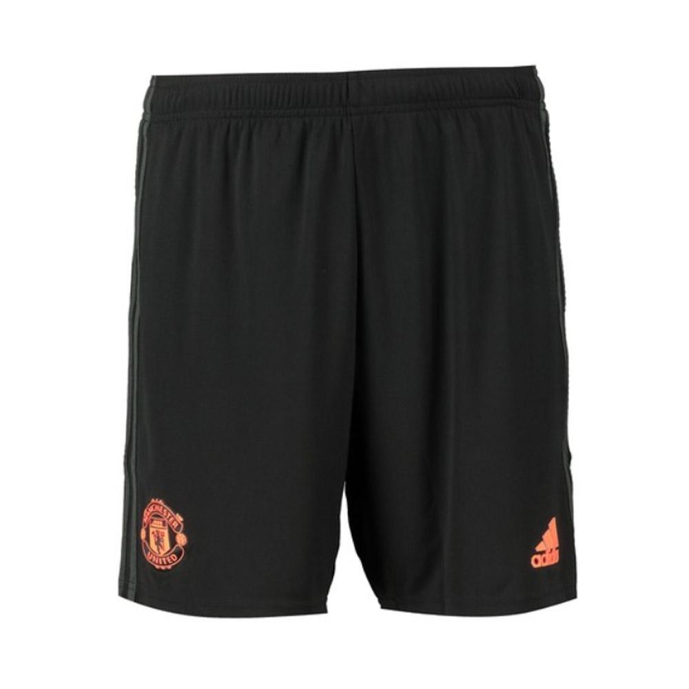 2019-2020 Man Utd Adidas Third Shorts (Black)