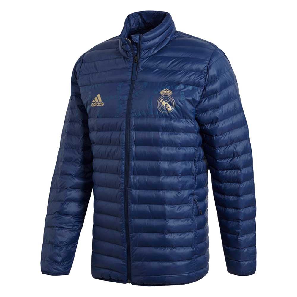 2019-2020 Real Madrid Adidas SSP LT Jacket (Night Indigo)