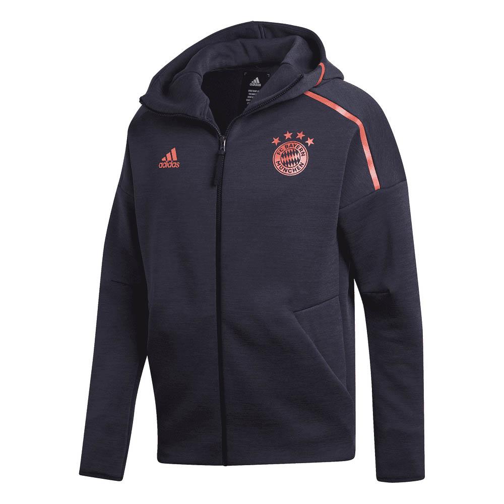 2019 2020 Bayern Munich Adidas ZNE 3.0 Anthem Jacket (Legend Ink)