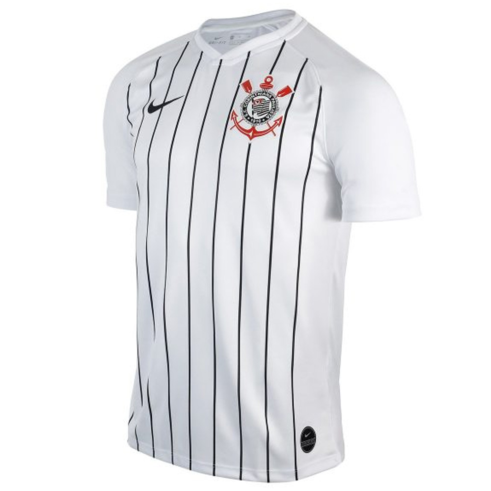 2019-2020 Corinthians Home Nike Football Shirt Nike