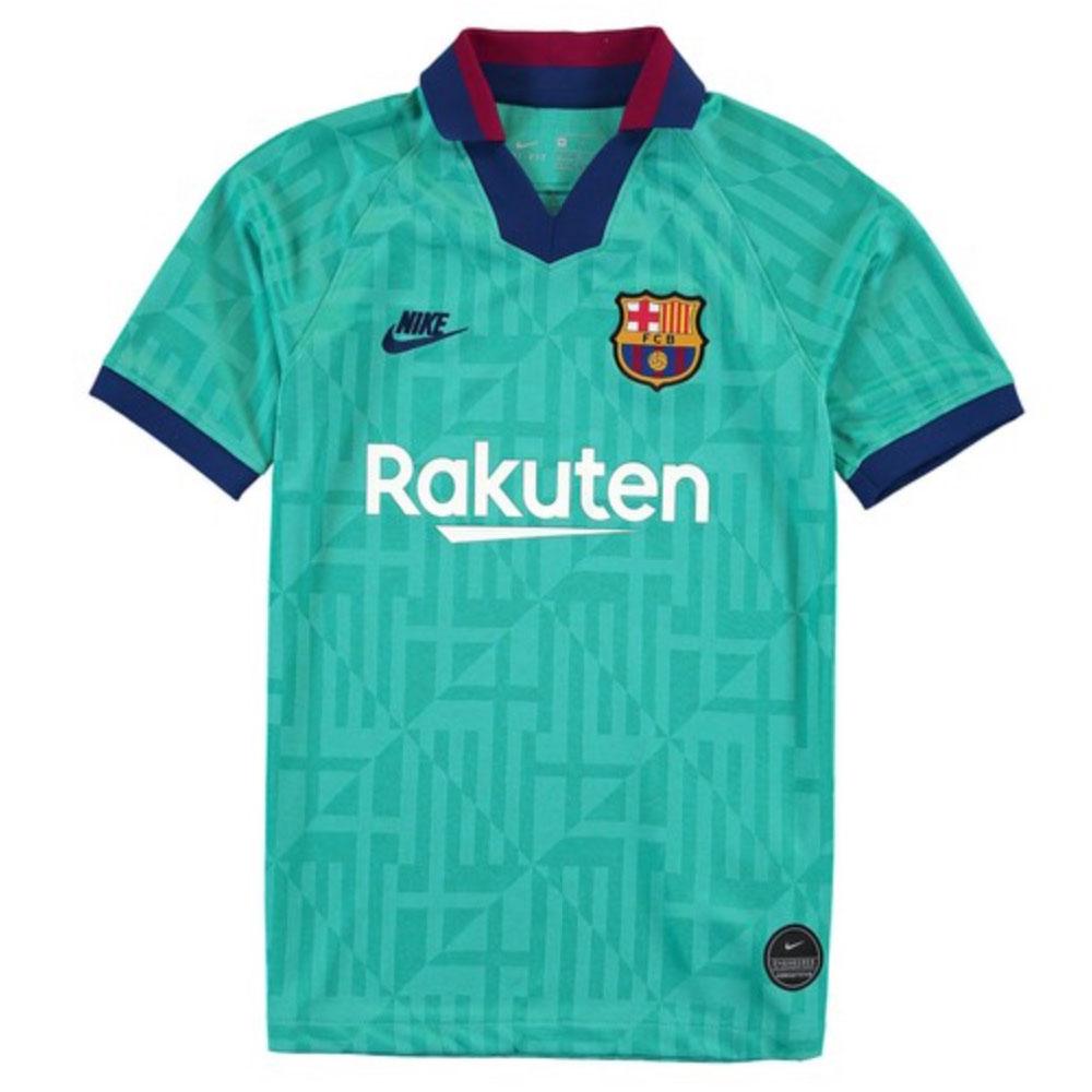 2019 2020 Barcelona Third Nike Shirt Kids At2632 310 Uksoccershop