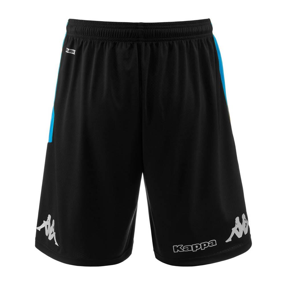 2019-2020 Napoli Kappa Training Shorts (Black)