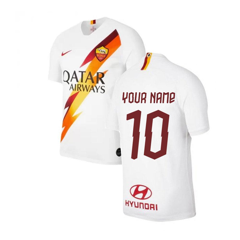 2019-2020 AS Roma Away Nike Football Shirt (Your Name)