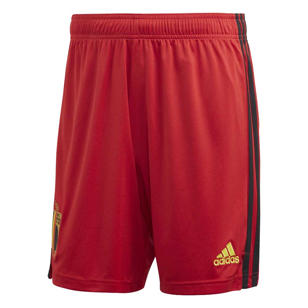2020-2021 Belgium Home Adidas Football Shorts (Red)