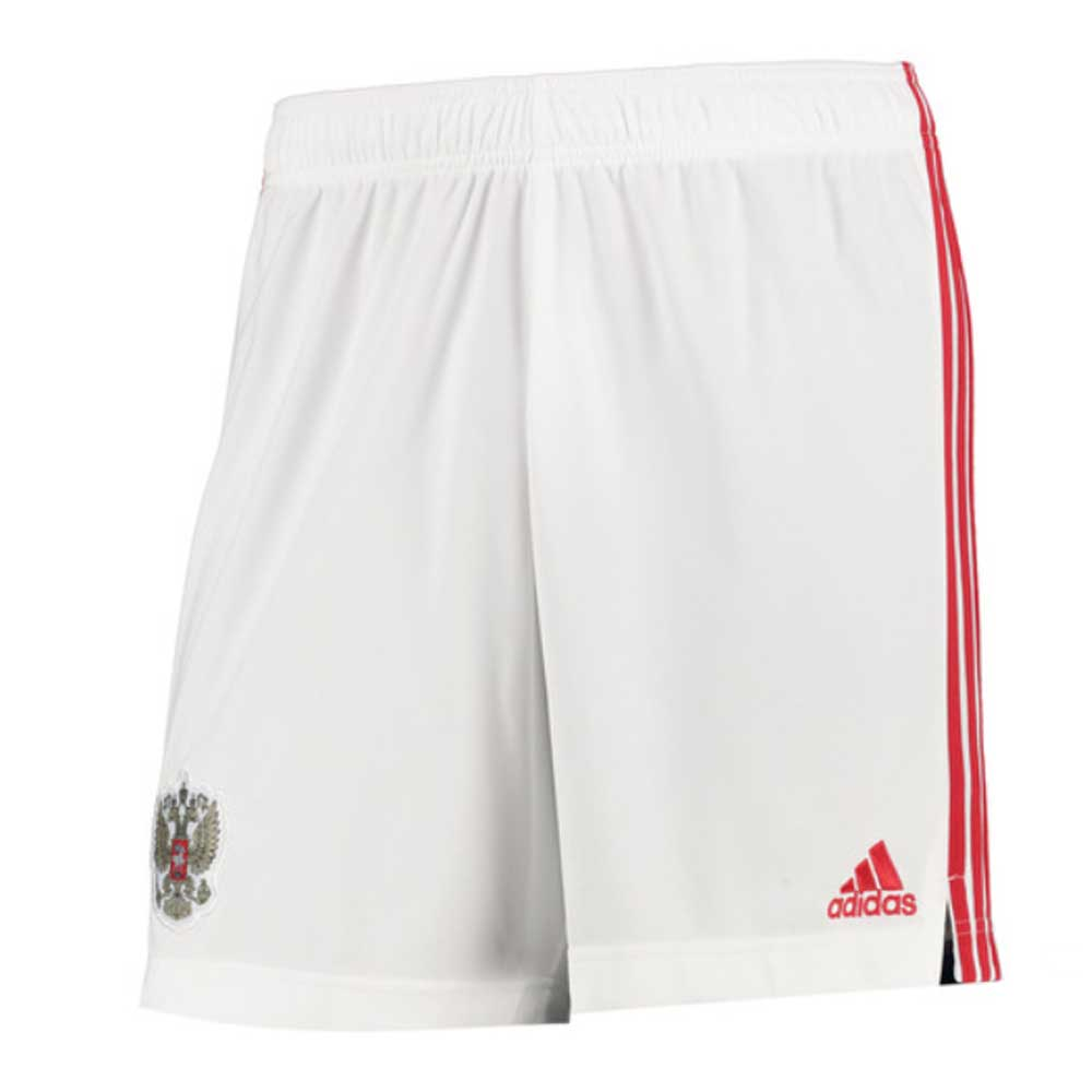 2020-2021 Russia Home Adidas Football Shorts (Kids)