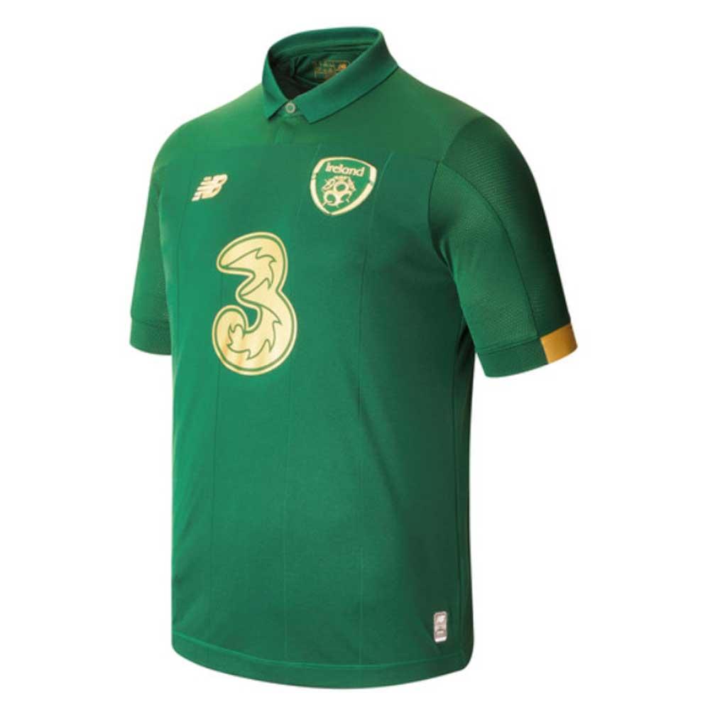 2020-2021 Ireland Home New Balance Football Shirt (Kids)