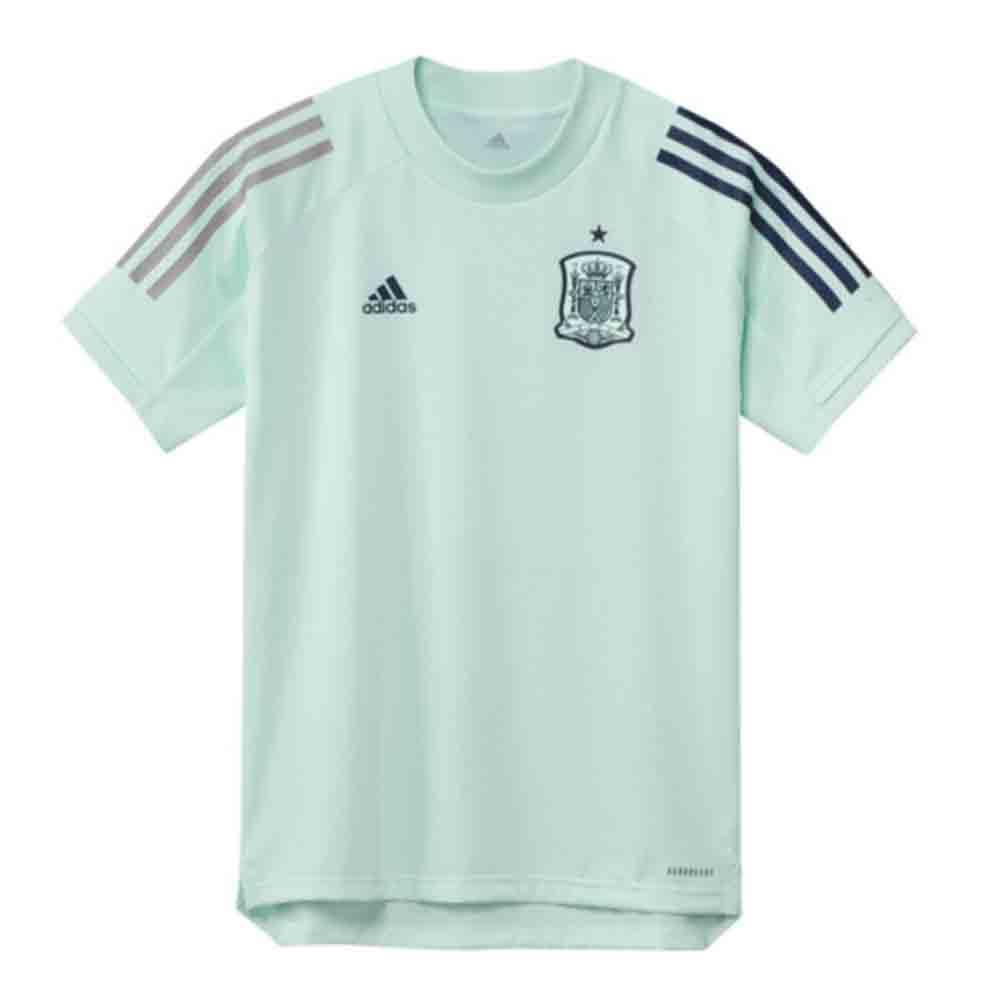 2020-2021 Spain Adidas Training Jersey (Dash Green) - Kids