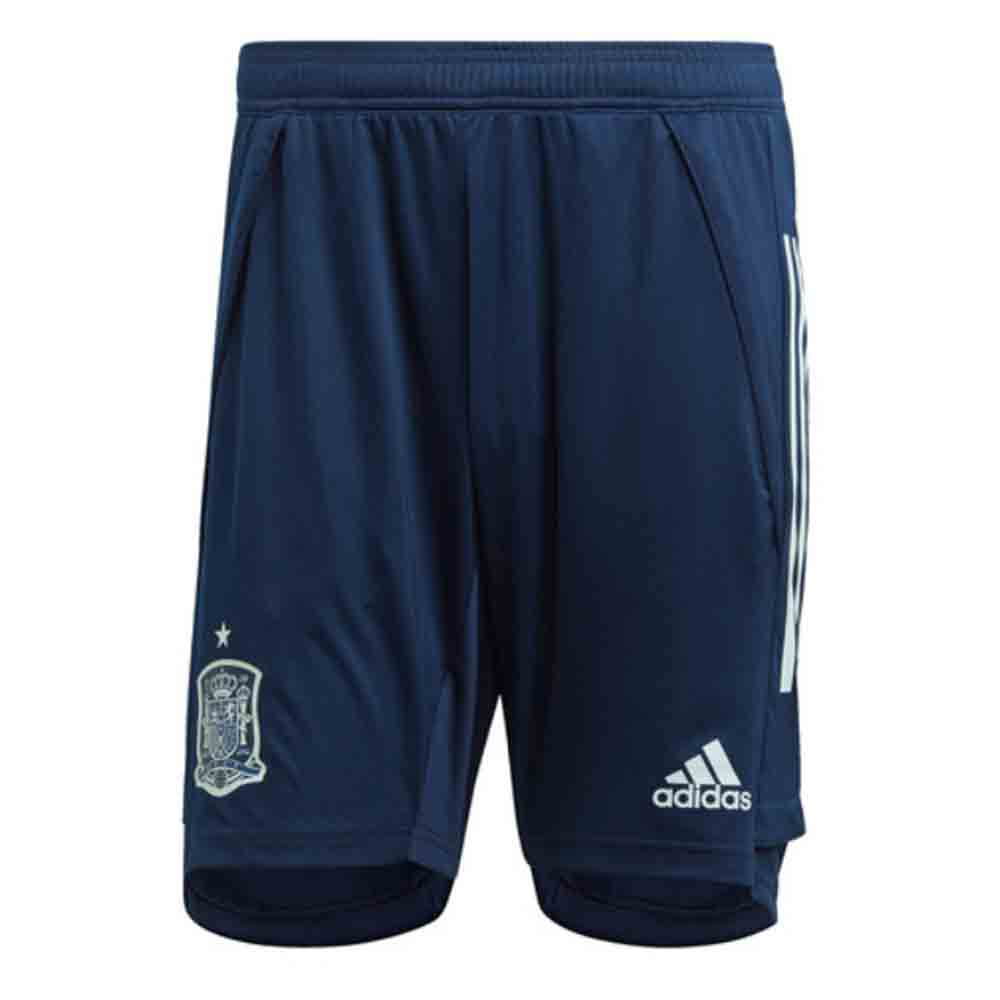 2020-2021 Spain Adidas Training Shorts (Navy)