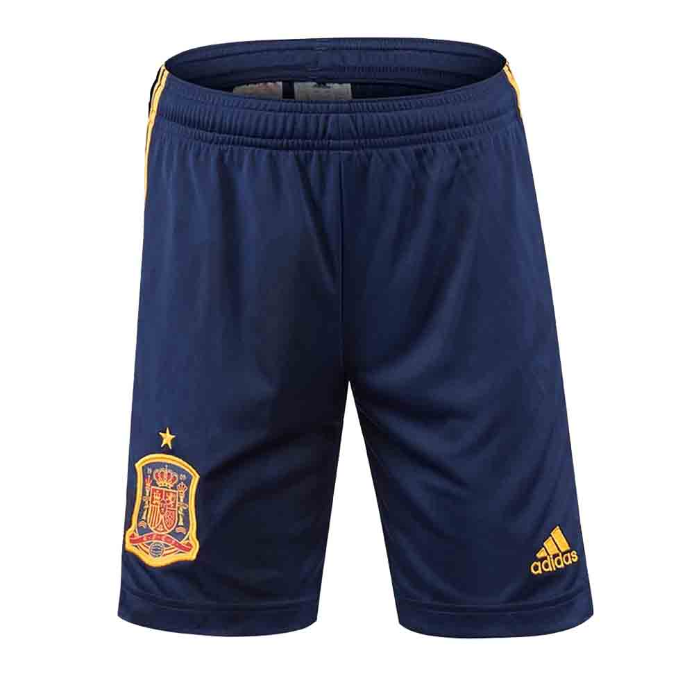 2020-2021 Spain Home Adidas Football Shorts (Kids)