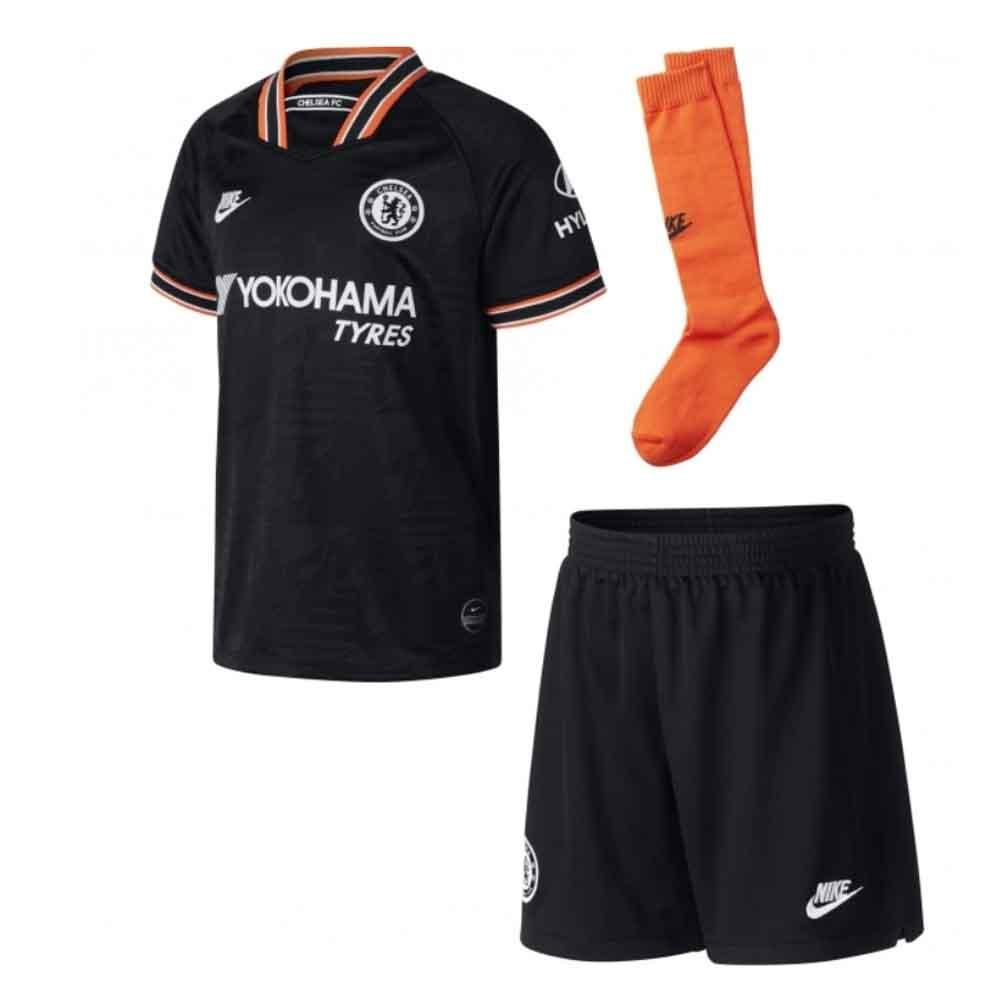 2019-2020 Chelsea Third Nike Little Boys Mini Kit