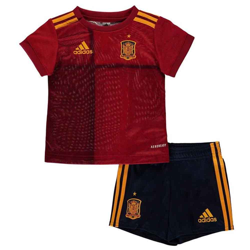 2020-2021 Spain Home Adidas Baby Kit