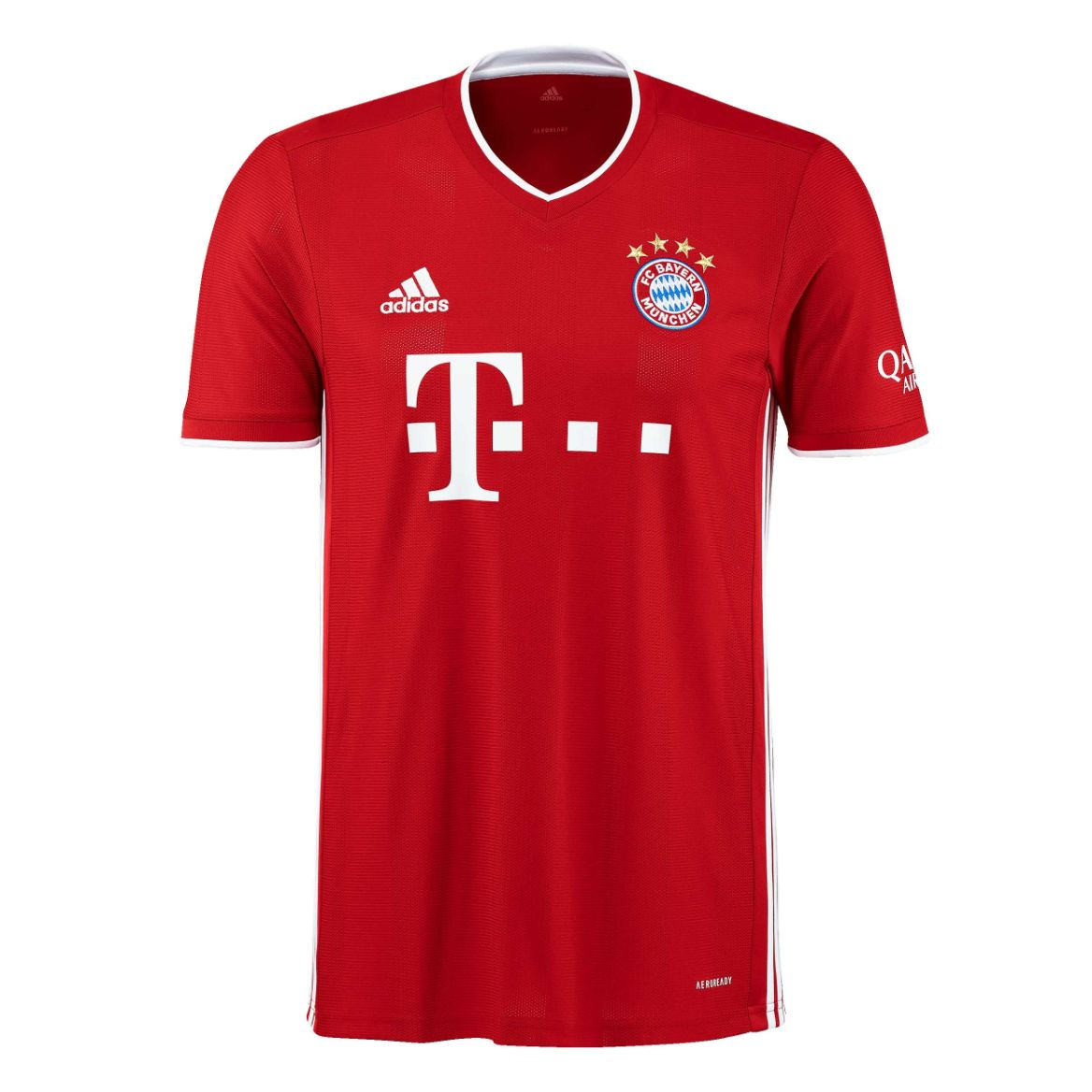 2020-2021 Bayern Munich Adidas Home Football Shirt Adidas