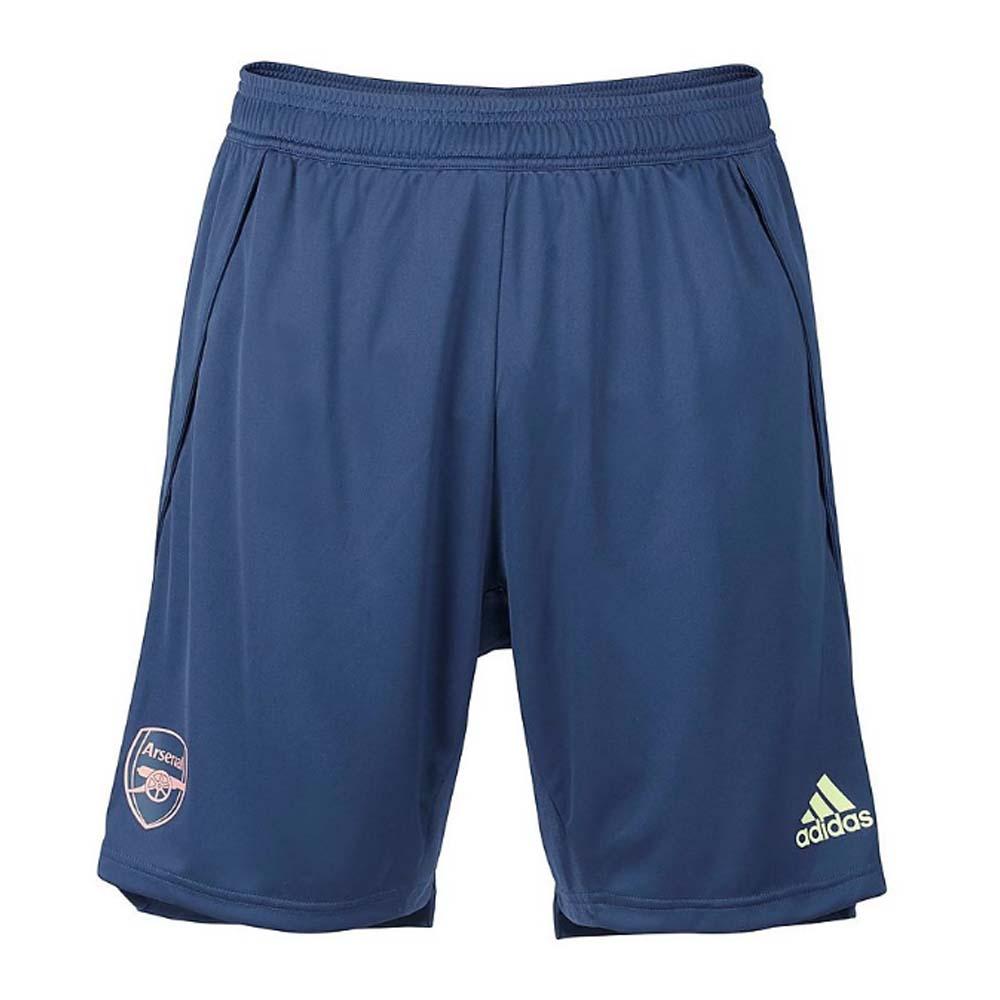 2020-2021 Arsenal Adidas Training Shorts (Indigo)