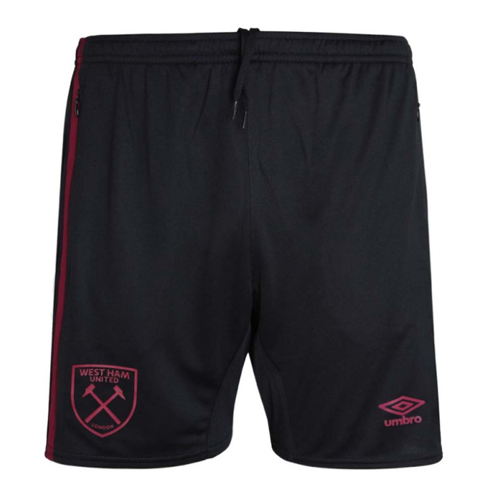 2020-2021 West Ham Training Shorts (Black)