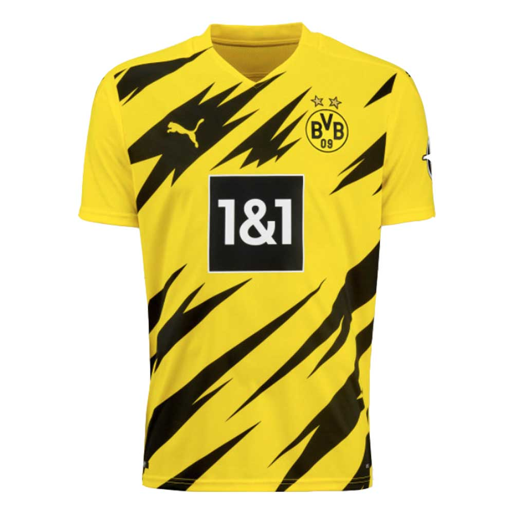 2020-2021 Borussia Dortmund Puma Home Football Shirt Puma