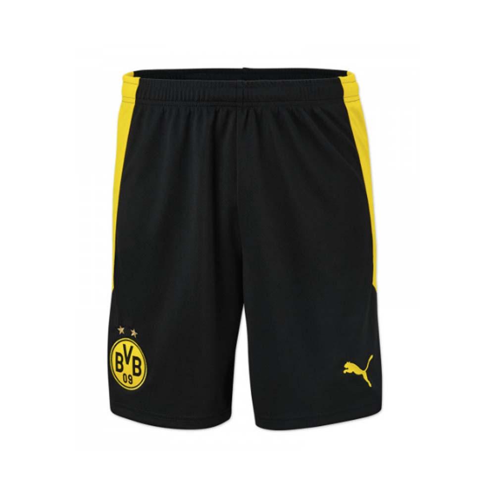 2020-2021 Borussia Dortmund Home Puma Shorts (Black) - Kids