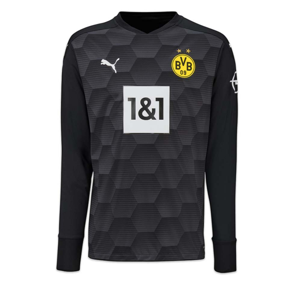 2020 2021 Borussia Dortmund Home Goalkeeper Shirt Black 75717302 Uksoccershop
