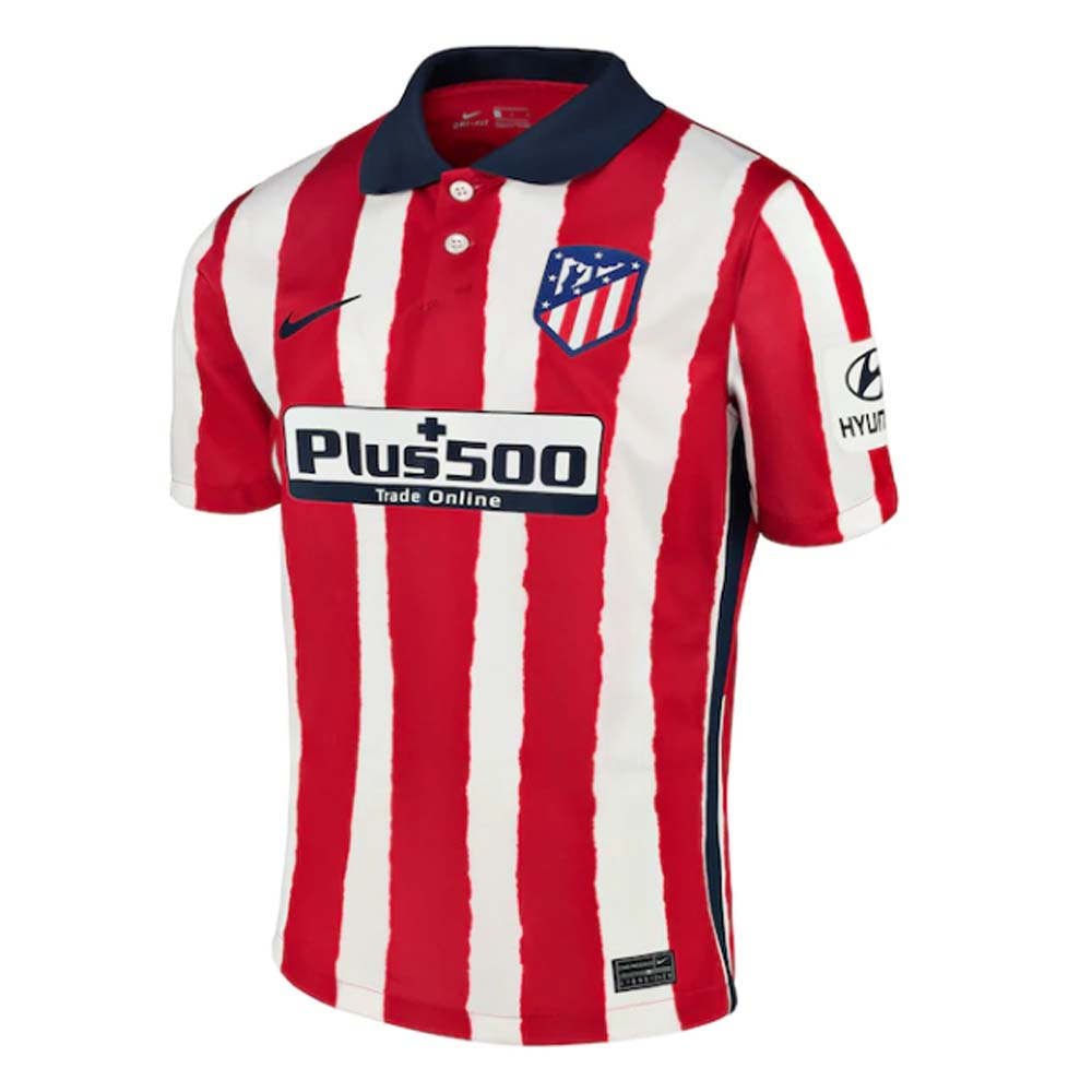 2020-2021 Atletico Madrid Home Nike Football Shirt Nike
