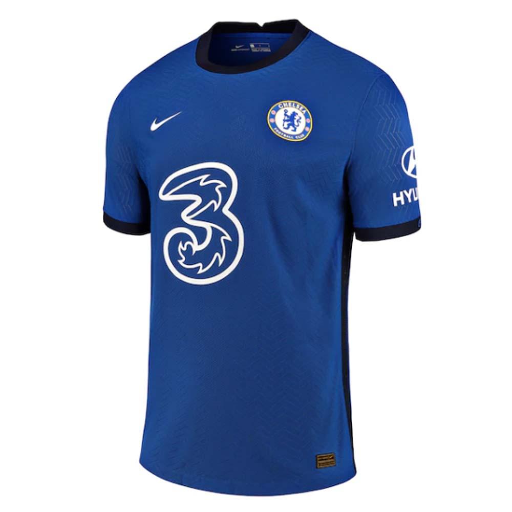 2020-2021 Chelsea Nike Vapor Home Match Shirt